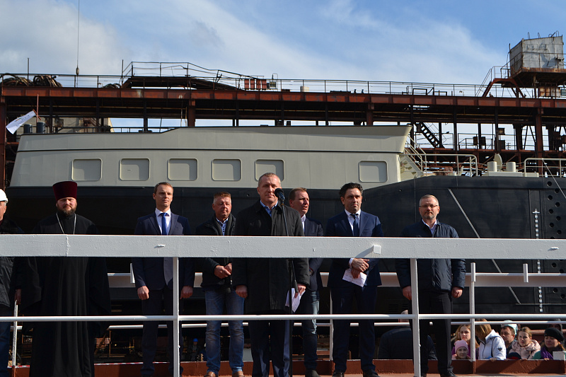 Kherson Shipyard of Smart Maritime Group Launches Tanker for